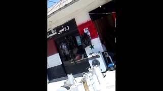 preview picture of video 'شبكة ازرع الثورة - درعا -مدينة ازرع : المحلات التجارية التي تتاجر بالمسروقات'