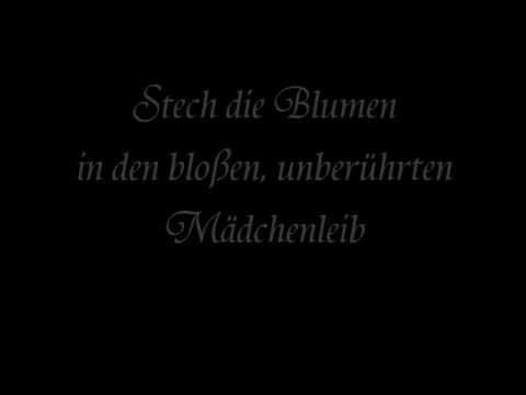 Subway to Sally - Kleid aus Rosen (Lyrics)
