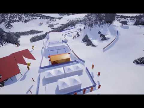 Amazing Preview of the 2018 Olympic SBX Course   FIS Snowboard