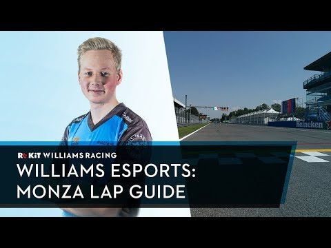 The Temple of Speed! Onboard with Williams Esports' Tino Naukkarinen around Monza