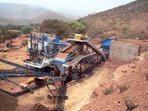 Iron ore washing project in India