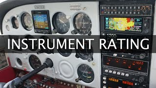 What Does It Take To Get Your Instrument Rating | FAA Requirements