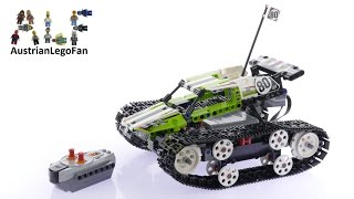 Lego Technic 42065 RC Tracked Racer - Lego Speed Build Review