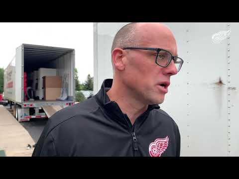 Jeff Blashill | Detroit Red Wings Training Camp 2019