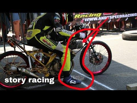 Bocor Bensinya Banjir ges,, Drag Bike Satria Fu 200cc
