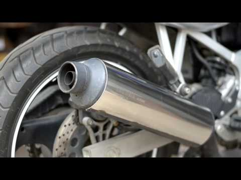 Suzuki GS500 Stock exhaust vs. Delkevic