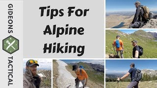 Tips For Alpine Hiking