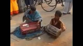 Pardesi Pardesi Jana Nahi By Mom & Son---Poor people