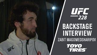 "UFC 228: Zabit Magomedsharipov - ""I Want Jose Aldo or Chad Mendes"""