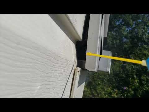 A new residential client in Brick, NJ called Cowleys after spotting yellowjackets flying around the soffit...