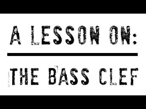 A Quick Lesson on The Bass Clef