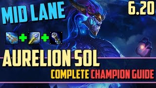 Aurelion Sol: How to Carry Using Stars! - League of Legends Champion Guide