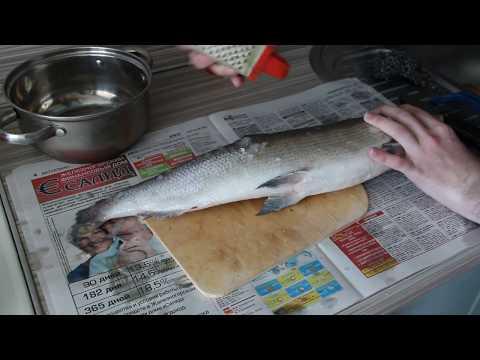 Способы чистки рыбы.