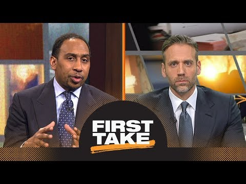 Stephen A. and Max react to Charles Barkley ripping LaVar Ball's parenting | First Take | ESPN