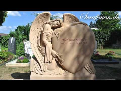 Die schönsten Grabsteine mit Engelfiguren für den Friedhof • Exklusive Grabengel • Serafinum.de