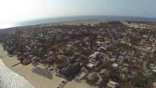 Luanda vista do céu