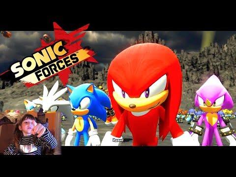 Можно ли детям играть в Sonic Forces. Прохождение игры Часть 6
