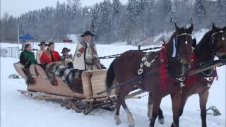preview picture of video 'Kumoterki Biały Dunajec 20.01.2013'