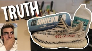 TRYING RESHOEVN8R TO SEE IF IT WORKS!?! (FEAT. YEEZYBUSTA)