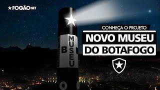 Projeto do novo museu do Botafogo tem farol de 30 metros e Garrincha como anjo em General Severiano