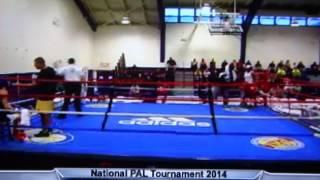 Mikaela Mayer vs Monayah Patterson PAL Nationals Preliminarys 10-01-14
