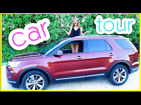 MY 1ST CAR TOUR! 16-Year-Old Gets 2018 Ford Explorer!!!