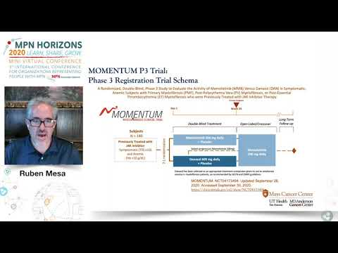 Current Clinical trial landscape for PV, ET and MF - Ruben Mesa