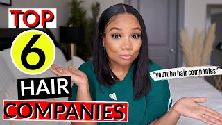HIGHLY REQUESTED | AFFORDABLE TOP 6 HAIR WIG COMPANIES | CONSISTENCY IS KEY!