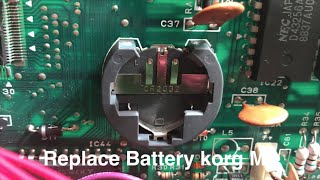 korg m1 battery replacement - मुफ्त ऑनलाइन