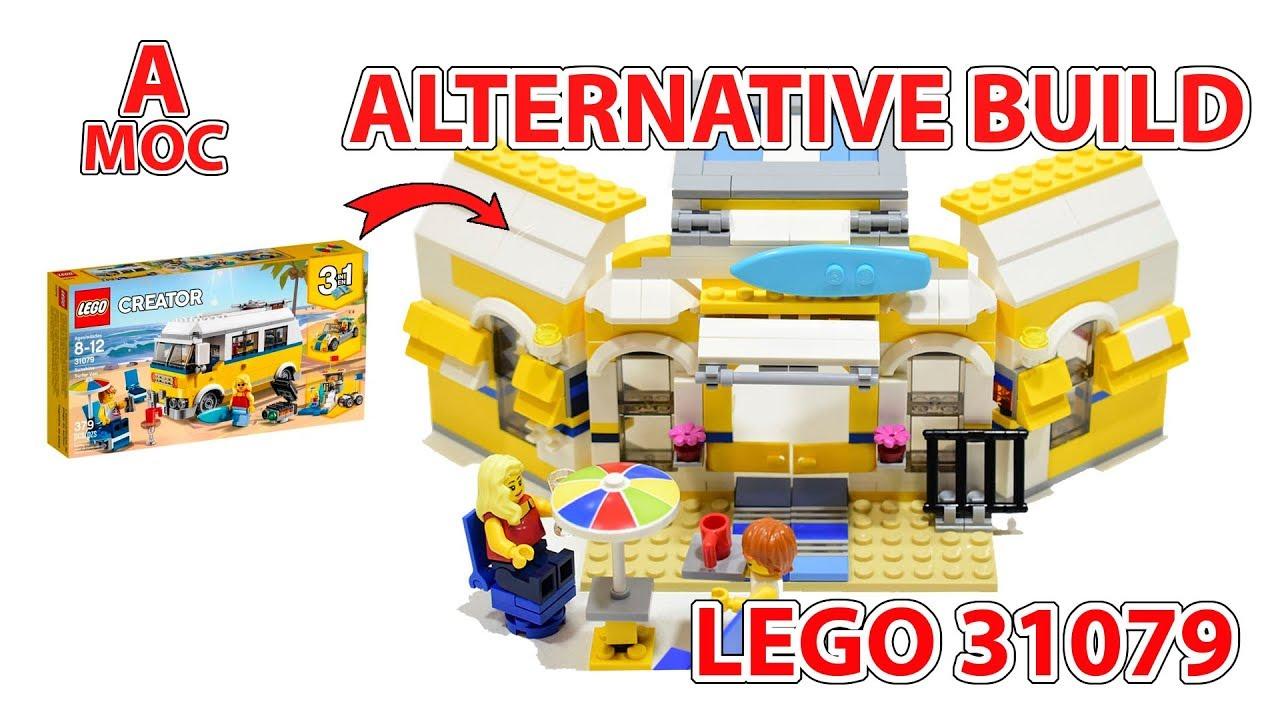 Sunshine Cafe! alternate build for LEGO Creator set 31079 review [A MOC]