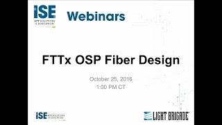 FTTx OSP Design Considerations