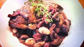 Gambar cover COQ AU VIN - Classic French Chicken in Red Wine Dish / Professional Restaurant Recipe