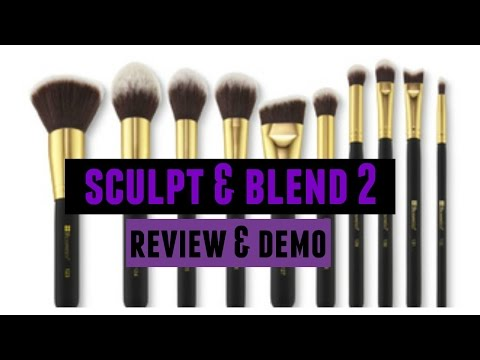 Marble Luxe 10 Piece Brush Set by BH Cosmetics #9