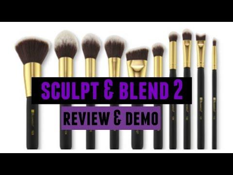 Brush V10 - Vegan Brow Duo Brush by BH Cosmetics #3