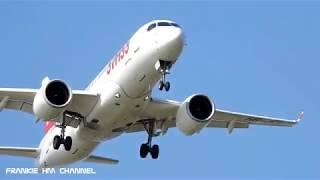 Airplanes landing compilation | Plane landing sound effect | Flight landings