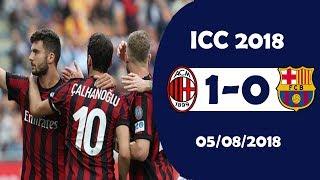 AC Milan 1-0 Barcelona [HighLights]