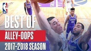 Best Alley-oop Dunks of the 2017-2018 NBA Regular Season - Video Youtube