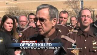 Shootout in Indiana Leaves a Police Officer Dead