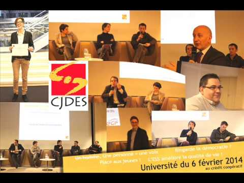 Université CJDES 2014 – Intervention Mathieu Fortin