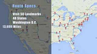 The Best Way to Drive Across the U.S. and See Major Landmarks