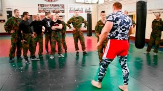 Боец MMA против 9 бойцов спецназа / Fighter MMA vs 9 soldiers special forces