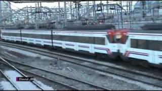 preview picture of video 'Entrada Sur de Atocha Cercanías 1'