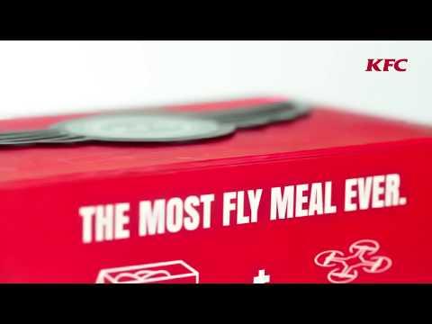 Синџирот за брза храна KFC направи кутија за храна која се претвора во дрон