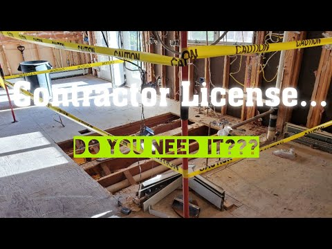 Having A Contractor's License! Pro's and Con's