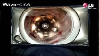 "LG Lavadora 6 Motion ""Wave Force"""