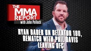 Ryan Bader on Bellator Signing, Rematching Phil Davis | Full Interview with John Pollock
