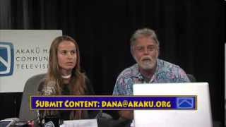 Jan 7, 2014 Akaku Live at 5 – Dana Fulton and Jason Schwartz host Maui's only live show about local events