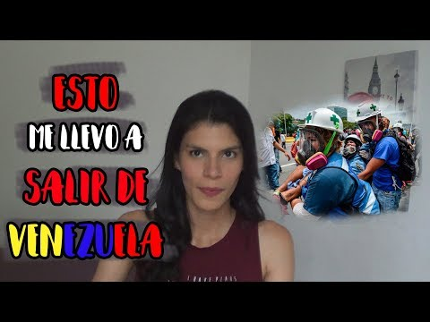 POR ESTO LOS JÓVENES SALEN DE VENEZUELA   @Monicasymonee