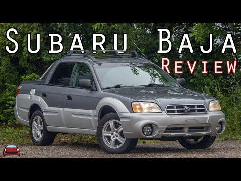 2005 Subaru Baja Review - The Weird Truck Thing From Subaru!