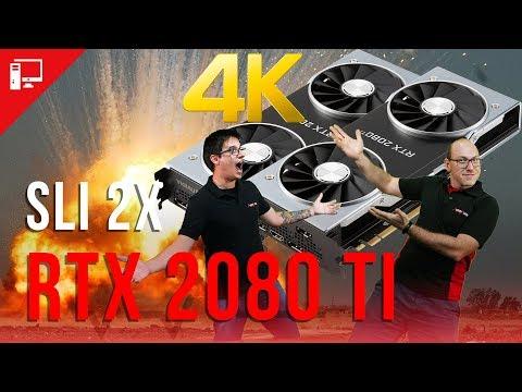 Adrenalivre em 4K: tentamos jogar com duas RTX 2080 Ti em SLI, mas o PC pifou!